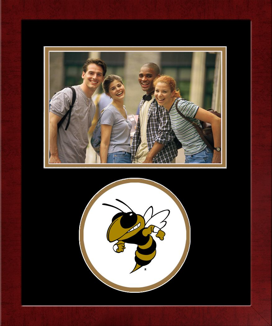 Georgia Institute of Technology Spirit Photo Frame (Horizontal)