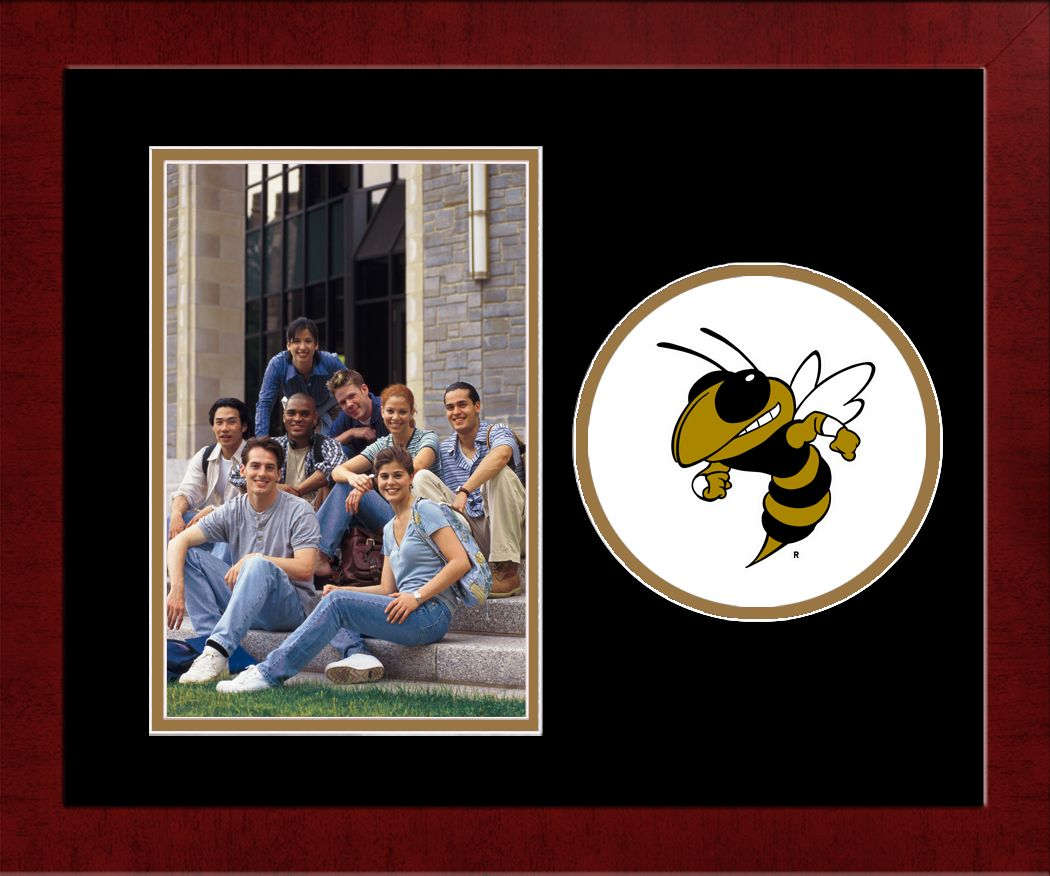 Georgia Institute of Technology Spirit Photo Frame (Vertical)