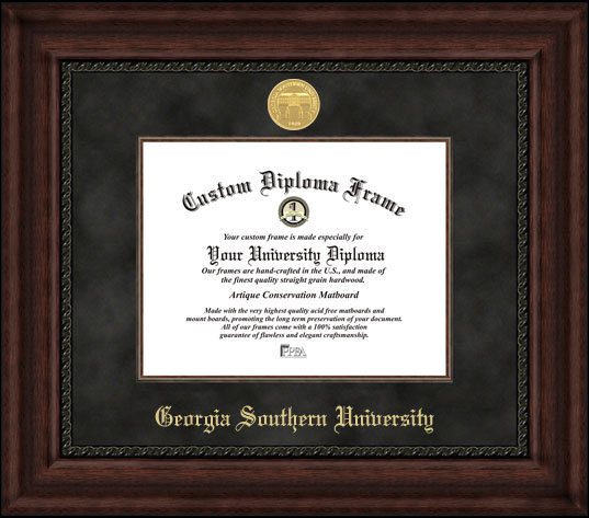 Georgia Southern  Executive Diploma Frame