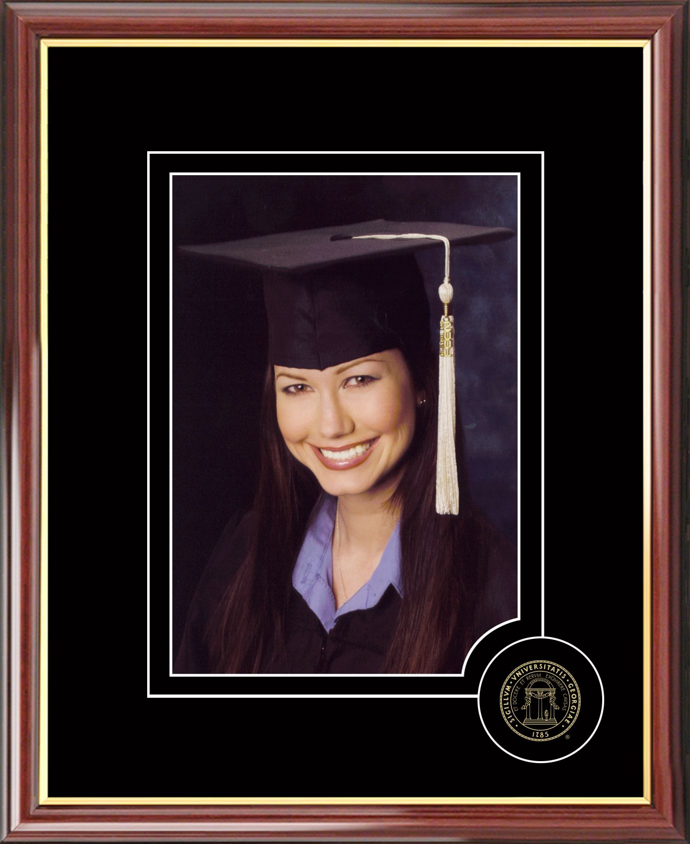 University of Georgia 5X7 Graduate Portrait Frame