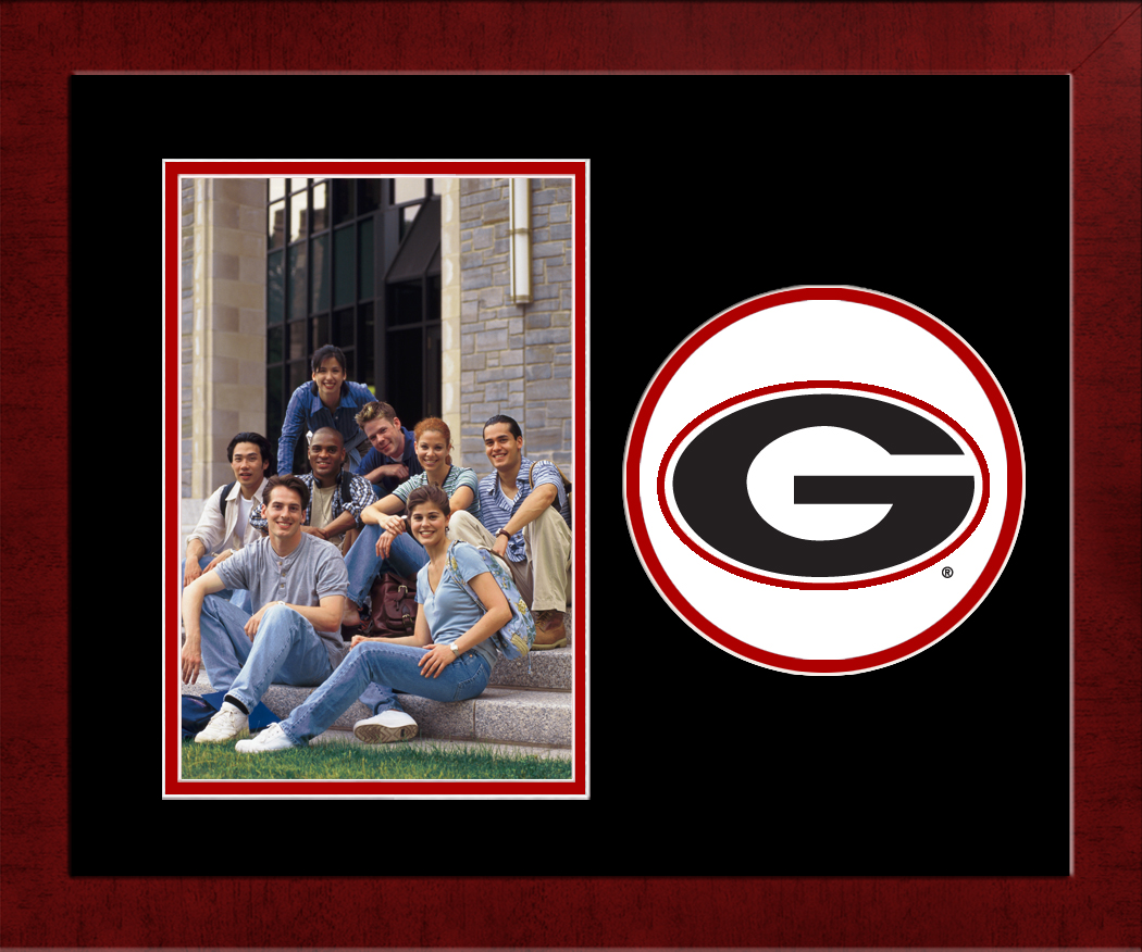 University of Georgia Spirit Photo Frame (Vertical)