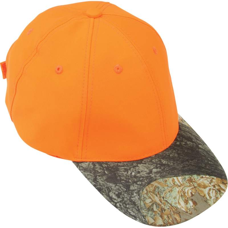 Casual Outfitters™ Orange Hunter's Cap With Invisible® Camo Bill - GFCAPORTC