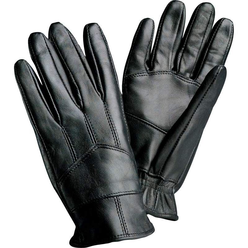 Giovanni Navarre® Solid Genuine Lambskin Leather Driving Gloves - Large - GFDRV2L