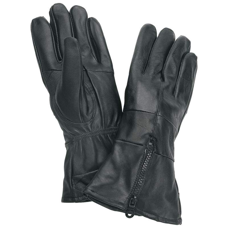 Diamond Plate™ Solid Genuine Leather Gloves - Large - GFGLCUFL - GFGLCUFL