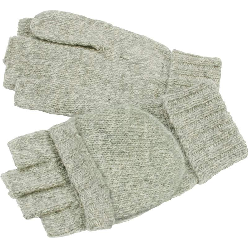 Casual Outfitters™ Men's Convertible Gloves/mittens Grey - GFGLVMT