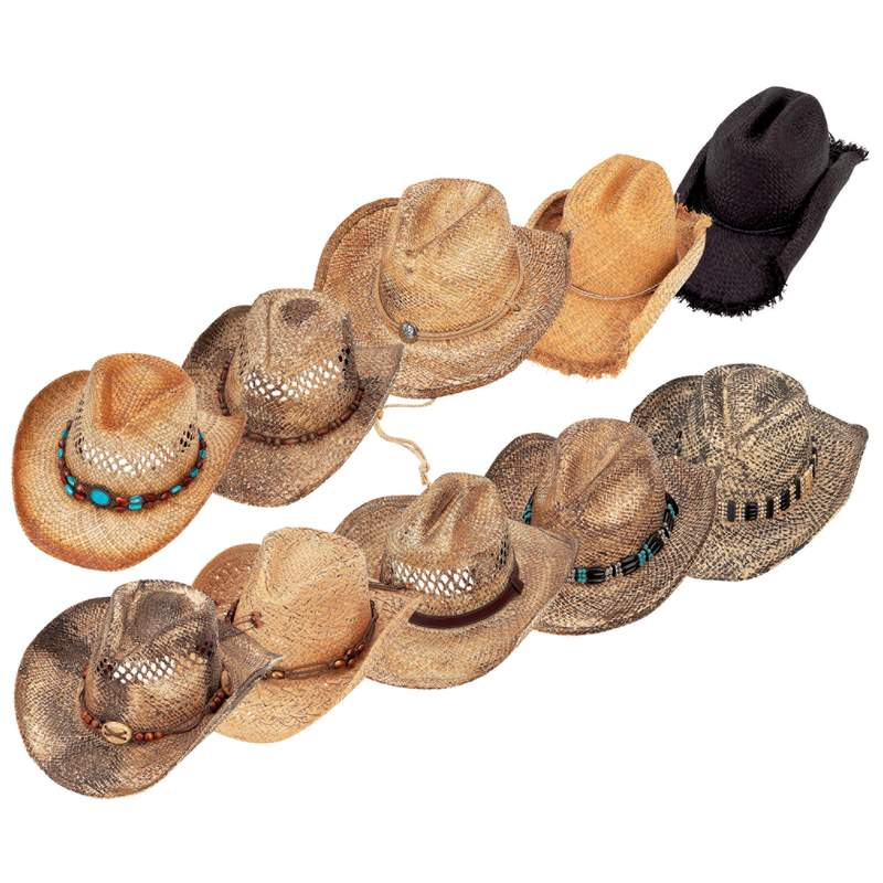 Casual Outfitters™ 10pc Shapeable Hat Set - GFHATS10