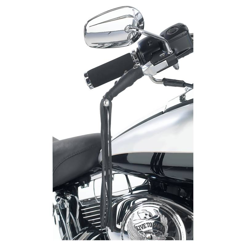 Diamond Plate™ Solid Genuine Leather Motorcycle Lever Covers - GFLEVER