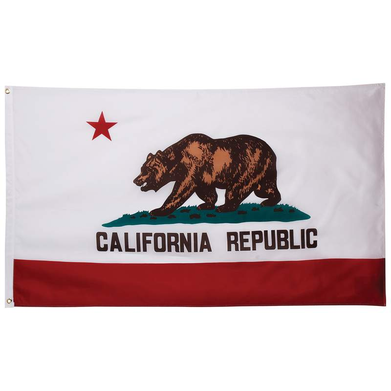 5' X 3' California State Flag - GFLGCA35
