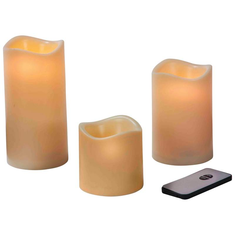 Mitaki-japan™ Led Candle Set With Remote Control - HHCANDLE