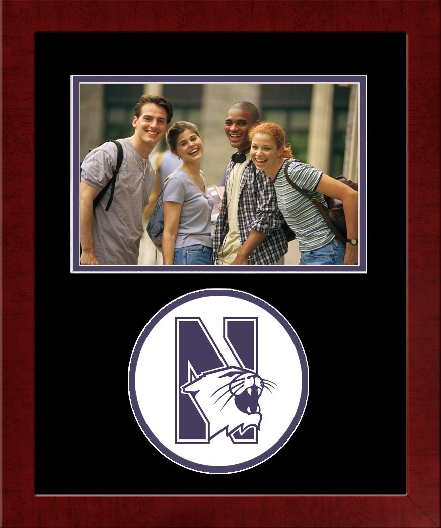 Northwestern University Spirit Photo Frame (Horizontal)