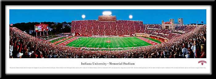 Indiana University, Bloomington Framed Stadium Print