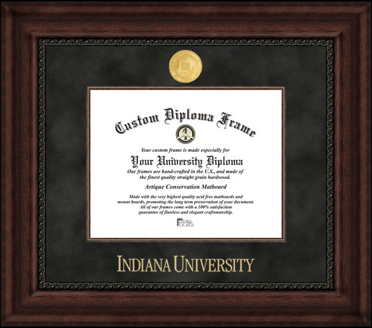 Indiana University, Bloomington,  Executive Diploma Frame