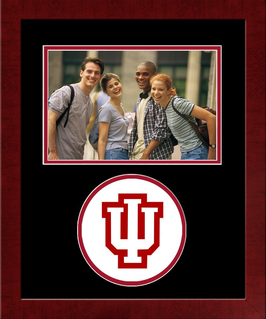 Indiana University, Bloomington Spirit Photo Frame (Horizontal)