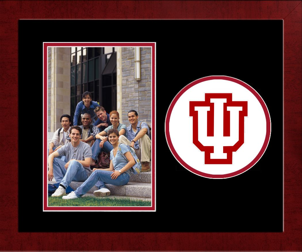 Indiana University, Bloomington Spirit Photo Frame (Vertical)