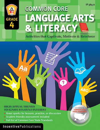 Language Arts & Literacy Gr 4 Common Core Reinforcement Act - IP-3842 - IP-3842