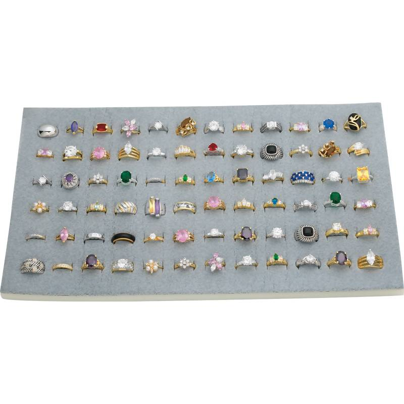 72pc Rings In Countertop Display - JERMIX72