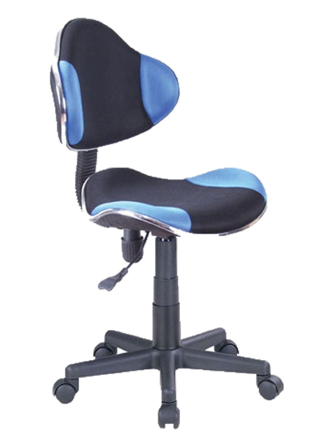 Computer Desk Office Chair W Mesh Fabric. (Black & Blue)