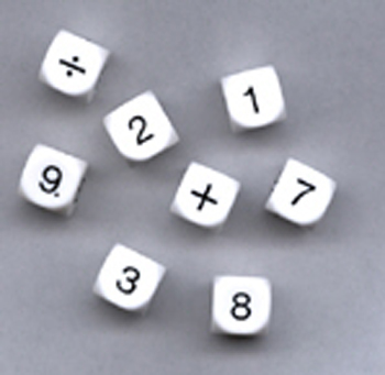 Whole Number Dice - KOP11701 - KOP11701