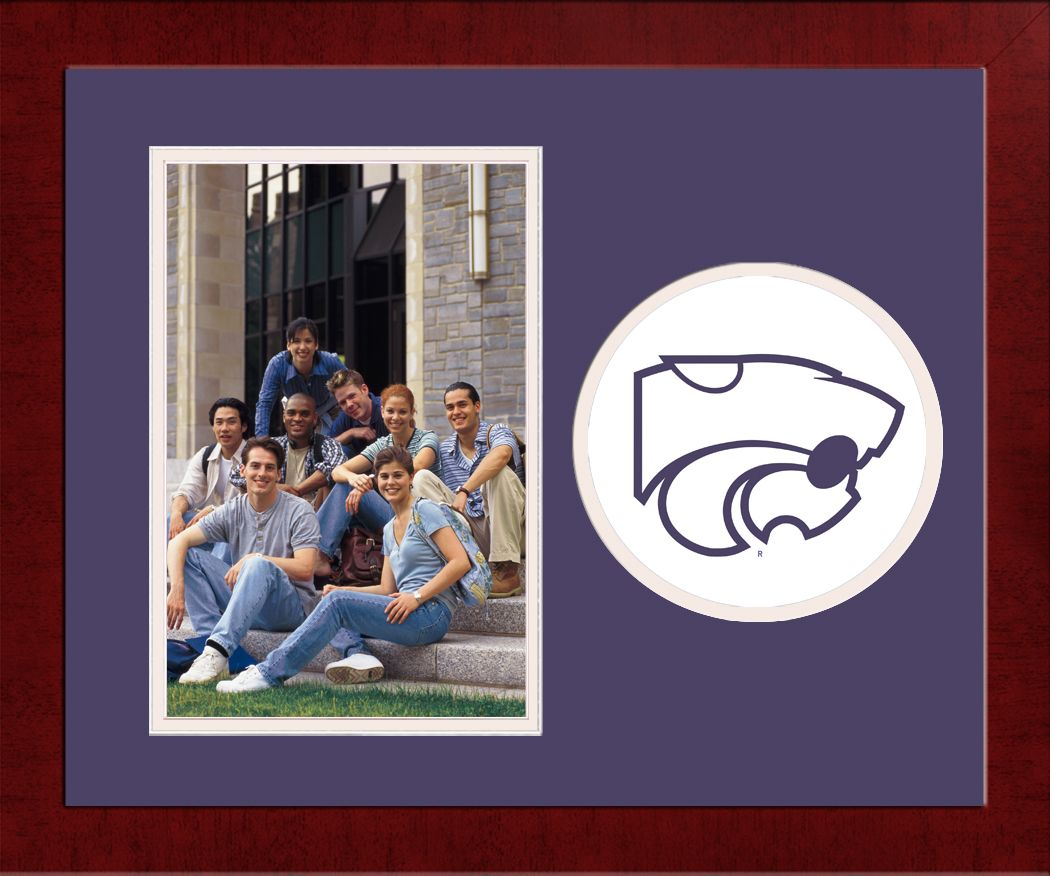 Kansas State University Spirit Photo Frame (Vertical)