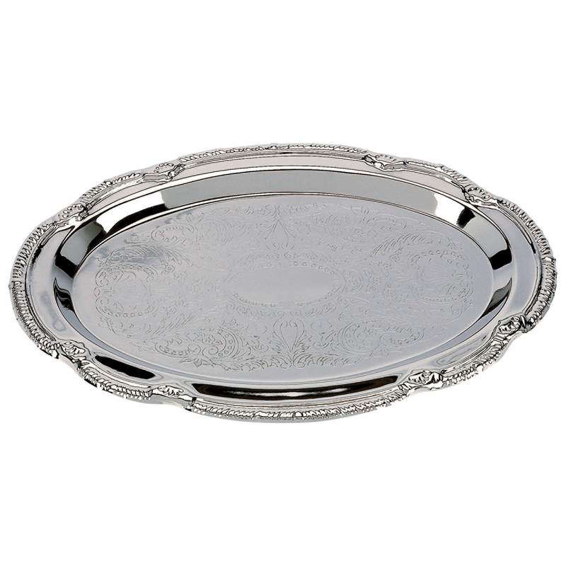 Sterlingcraft® Oval Serving Tray - KT404S - KT404S