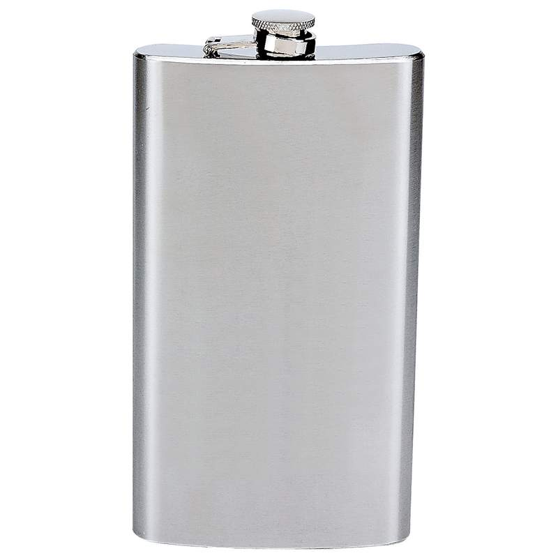Maxam® 12oz Stainless Steel Flask - KTFLASK12 - KTFLASK12