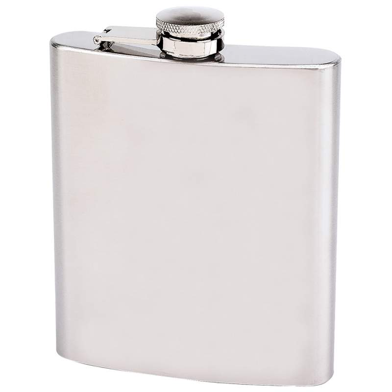 Maxam® 18oz Stainless Steel Flask - KTFLASK18