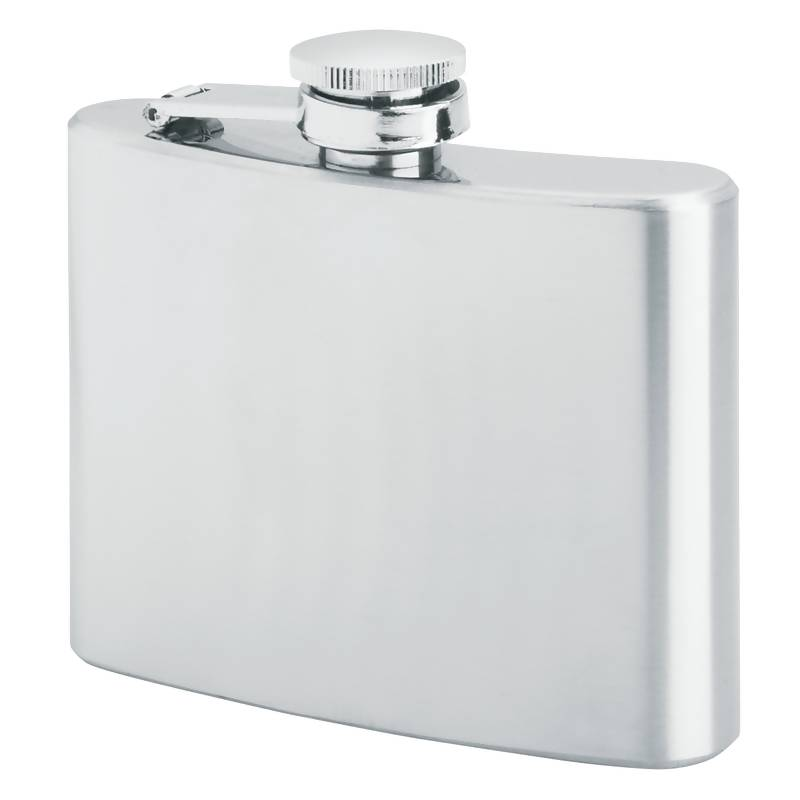 Maxam® 4oz Stainless Steel Flask - KTFLASK4
