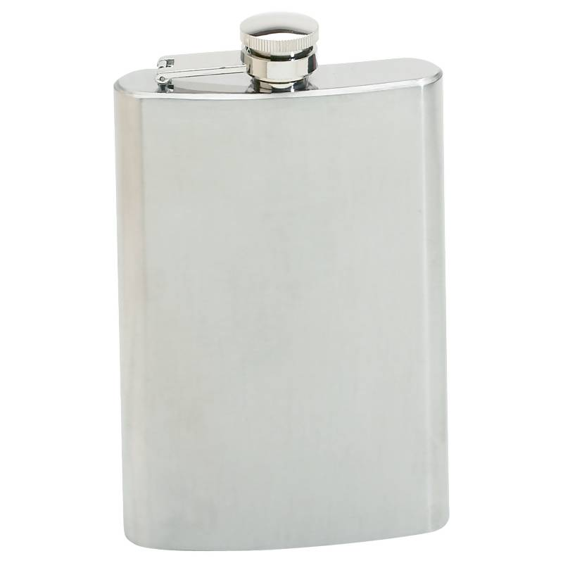 Maxam® 8oz Stainless Steel Flask - KTFLASK8