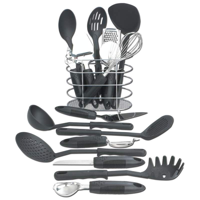 Maxam® 17pc Kitchen Tool Set - KTOOL172 - KTOOL172