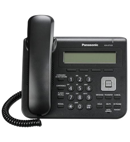 Panasonic Warranty BASIC SIP PHONE - KX-UT123-B