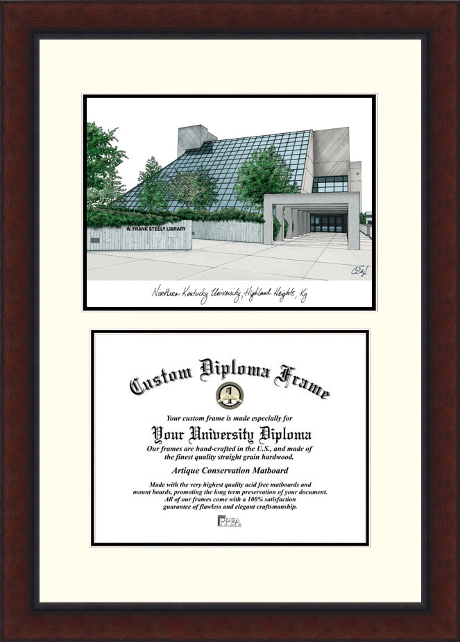 Northern Kentucky University  Legacy Scholar Diploma Frame - KY977LV