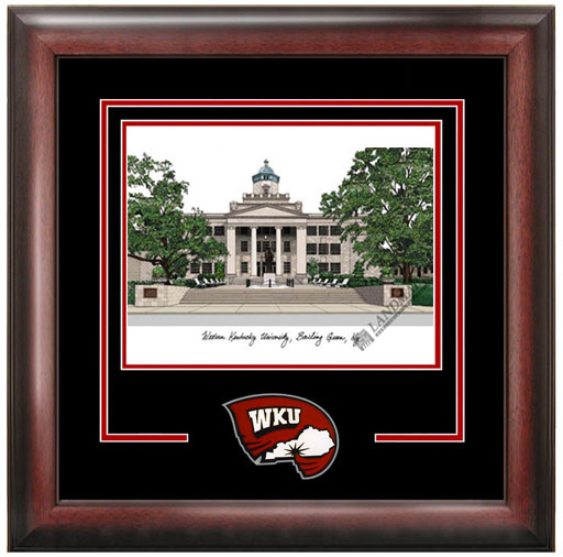Western Kentucky University Spirit Litho Frame