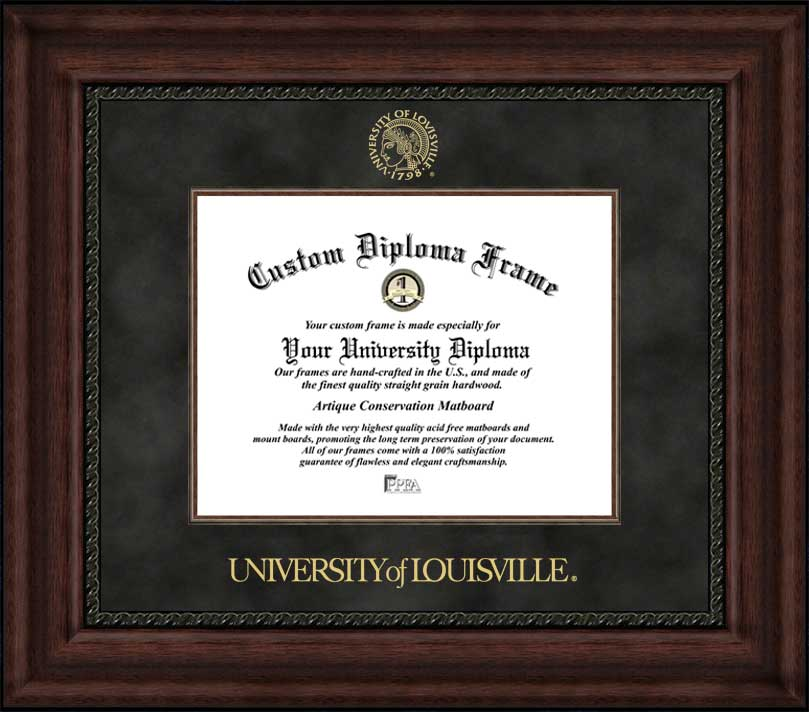 University of Louisville  Executive Diploma Frame