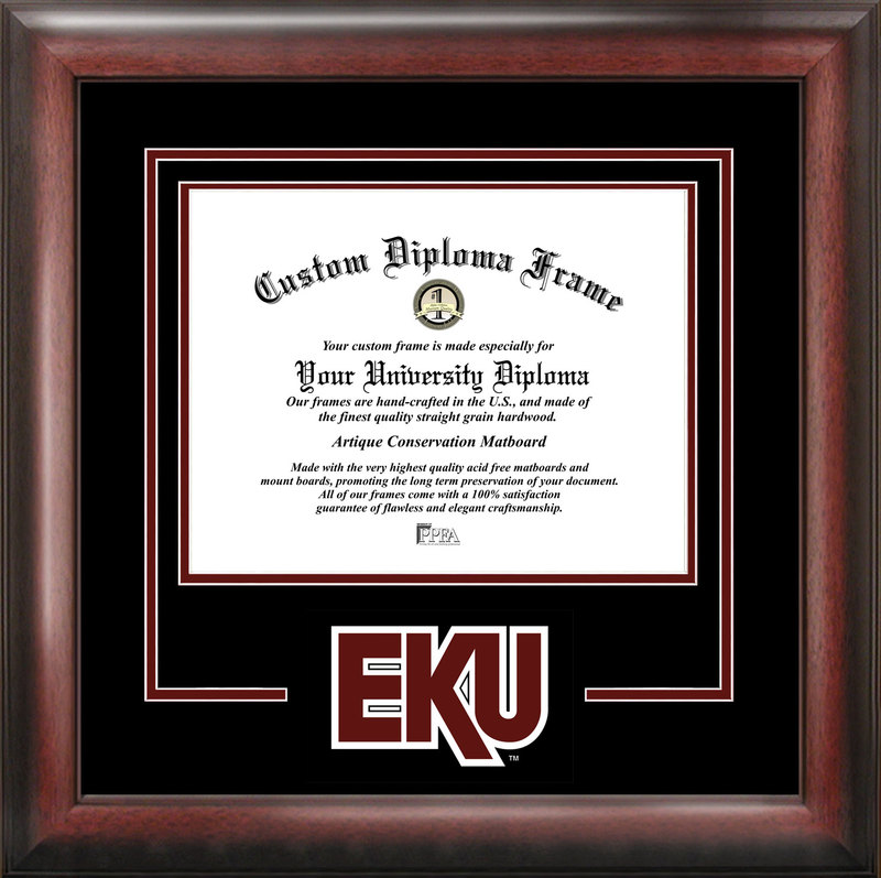 Eastern Kentucky University Spirit Diploma Frame