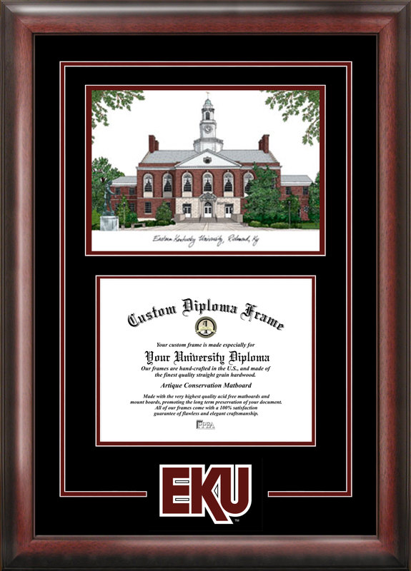 Eastern Kentucky University Spirit Graduate Frame