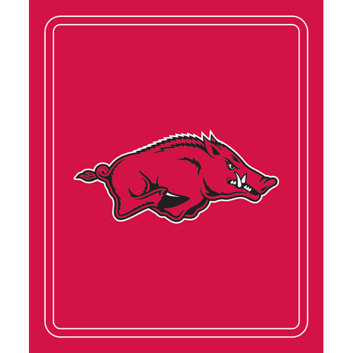Arkansas Razorbacks NCAA Classic Fleece Blanket