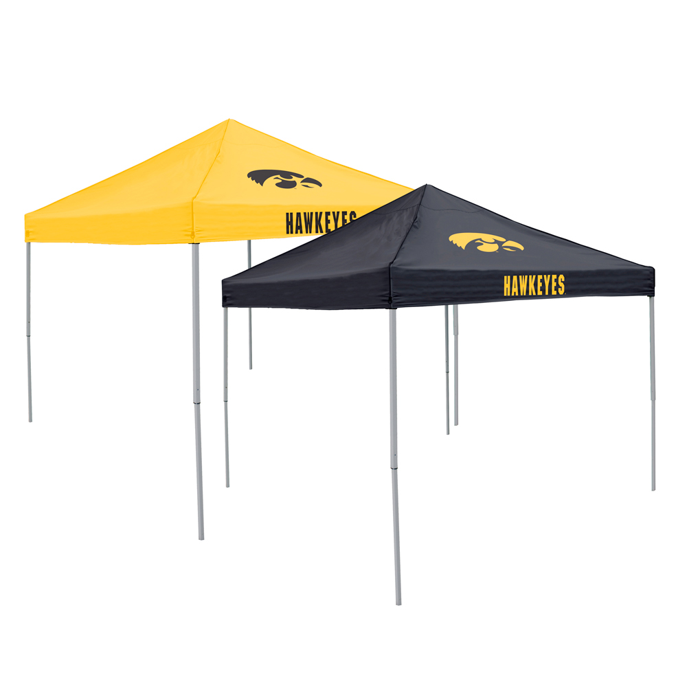 Iowa Hawkeyes NCAA Reversible Home And Away Tent