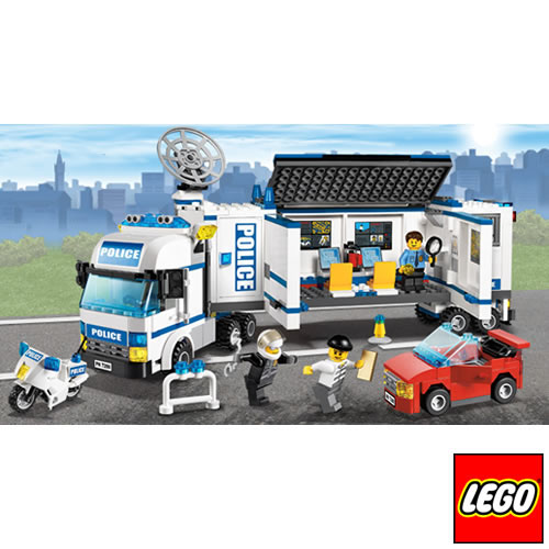 LEGO SYSTEMS LEGO City Police - Mobile Police Unit - 7288 - LEGO7288