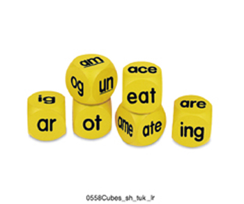 Phonics Cubes Word Family 6/pk - LER0588 - LER0588