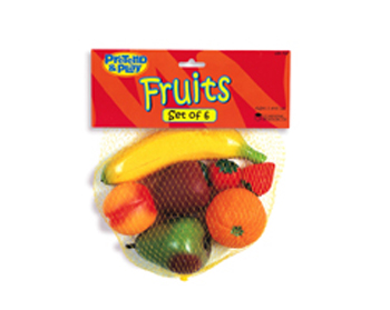 Farmers Market Fruit Set 6 Pieces - LER7197 - LER7197