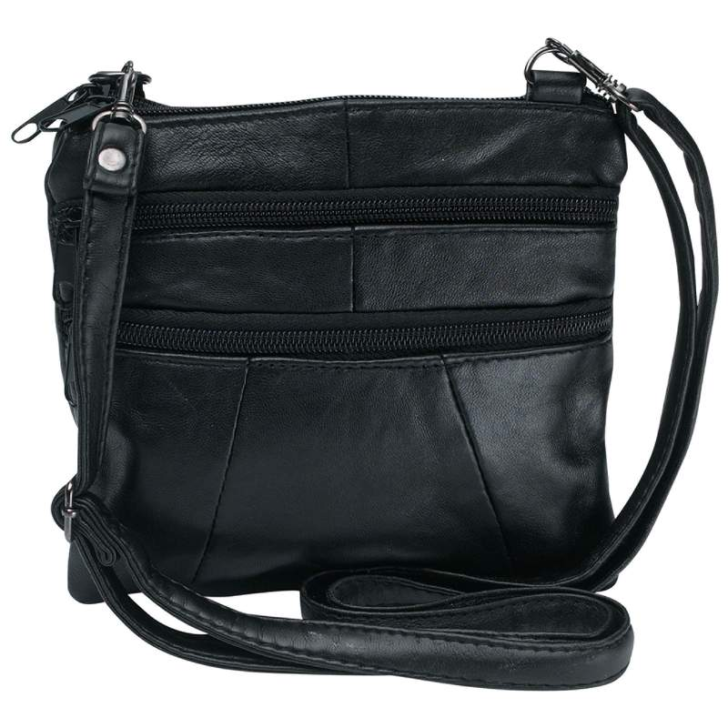Embassy™ Solid Genuine Leather Purse - LUPRSSM2