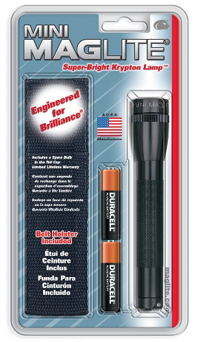 Maglite 2 Cell AA & Holster Combo Pack - M2A01H - M2A01H_jb