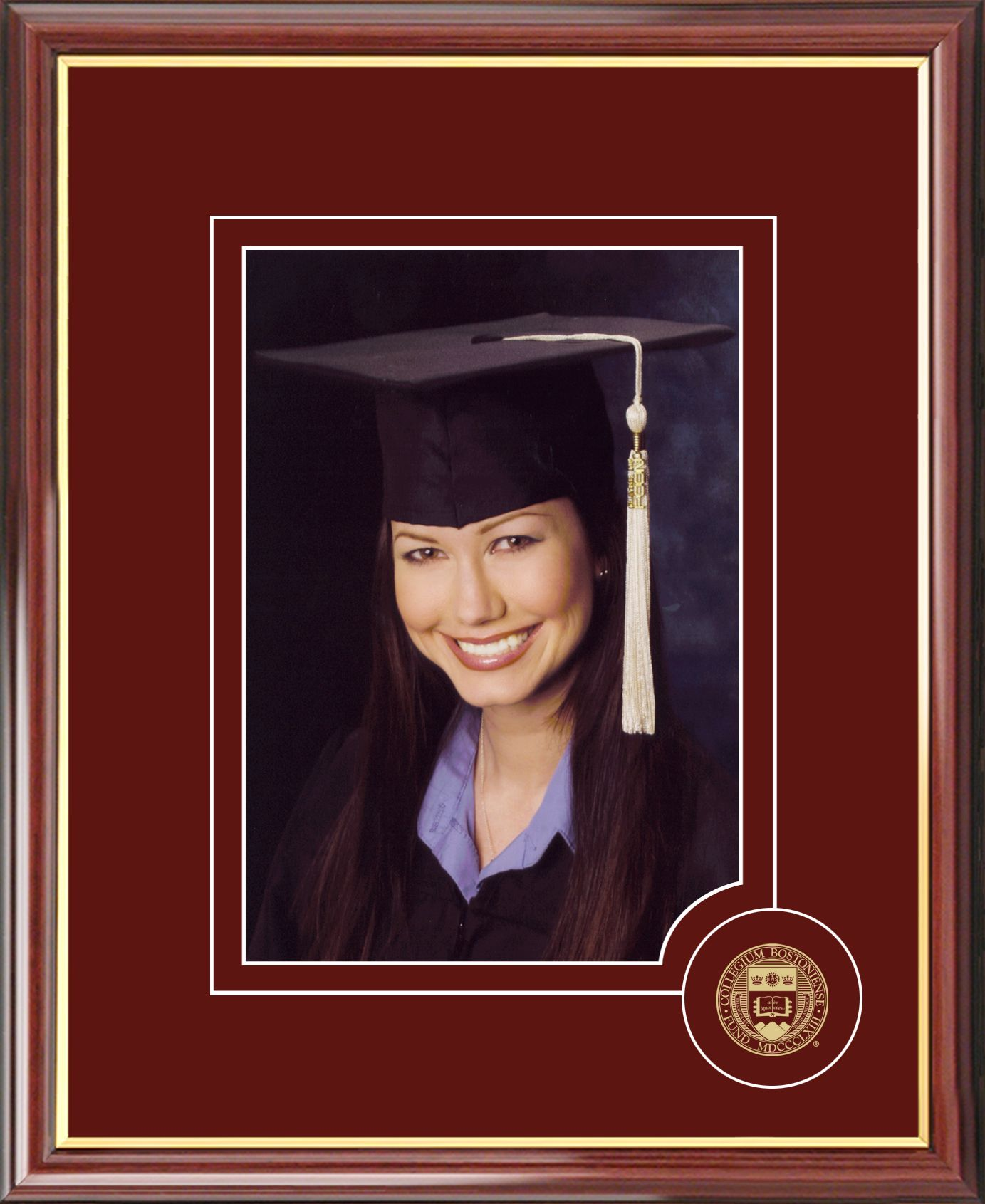 Boston College 5X7 Graduate Portrait Frame