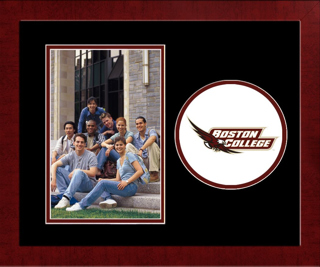Boston College Spirit Photo Frame (Vertical)