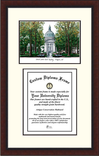 United States Naval Academy  Legacy Scholar Diploma Frame
