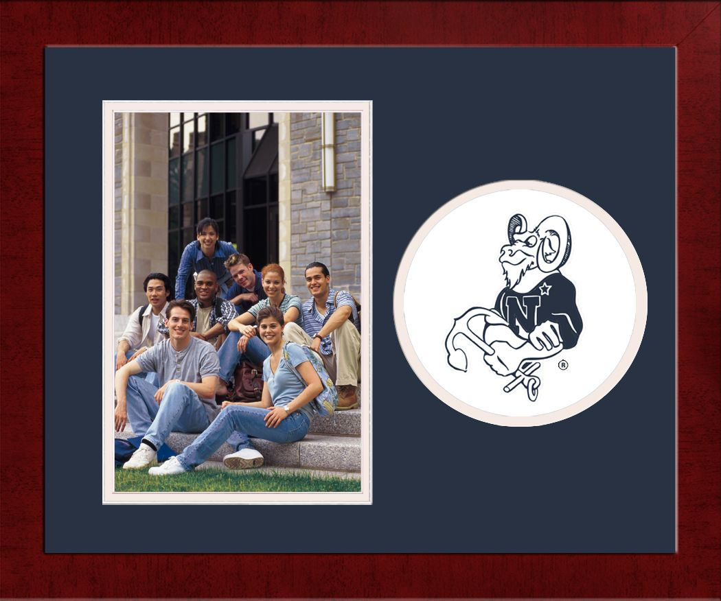 United States Naval Academy Spirit Photo Frame (Vertical)
