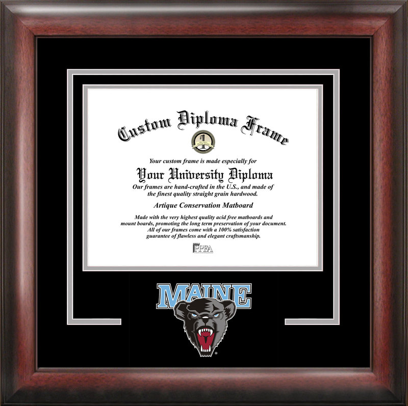 Maine University Spirit Diploma Frame
