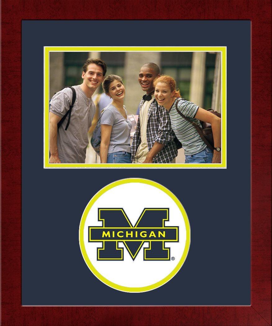 University of Michigan Spirit Photo Frame (Horizontal)