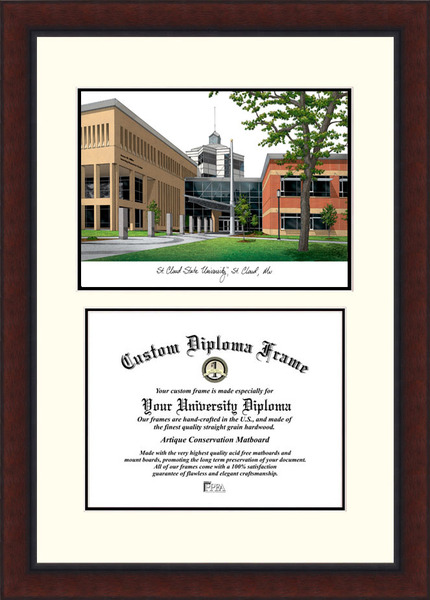 St. Cloud State  Legacy Scholar Diploma Frame