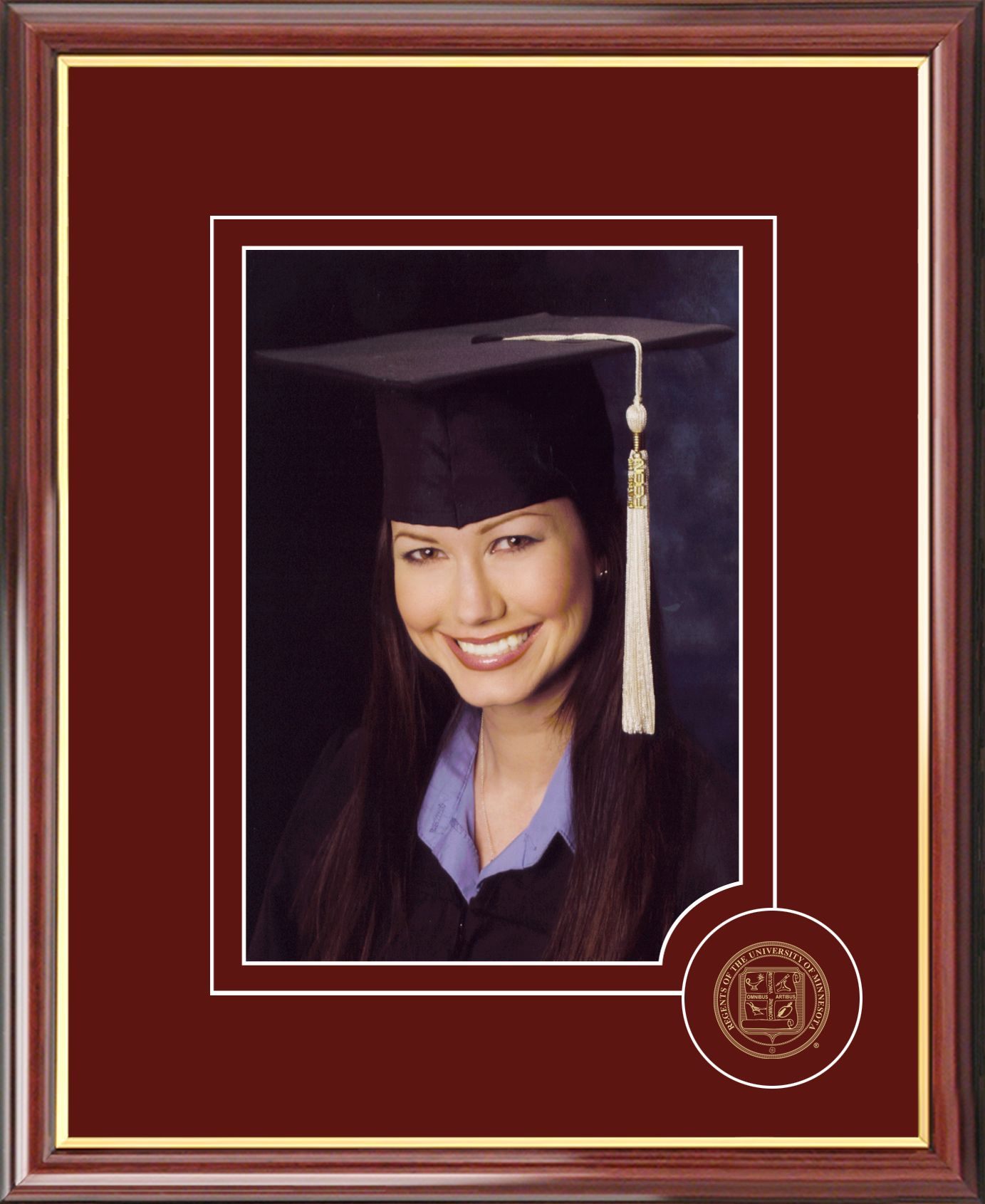 University of Minnesota 5X7 Graduate Portrait Frame
